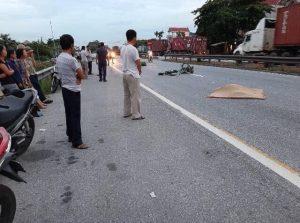 tai nạn tại Kim Thành HD