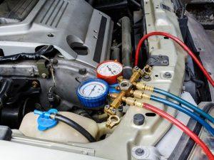 Đảm bảo các chỉ số áp suất điều hòa ô tô