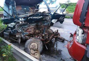 Hiện trường vụ tai nạn tại Kim Thành
