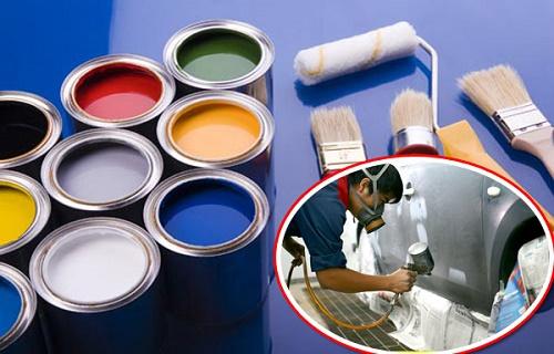 Cách pha màu sơn xe ô tô