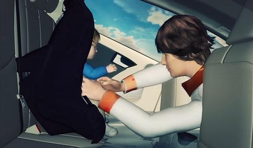 Cách thoát hiểm khi ô tô bị chìm