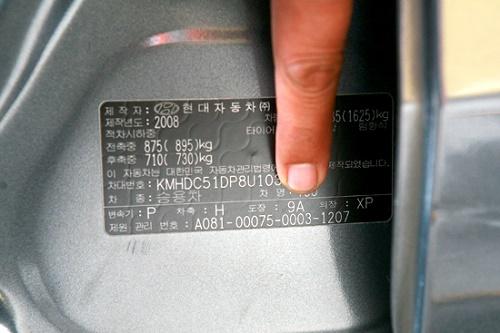 Code màu xe ô tô