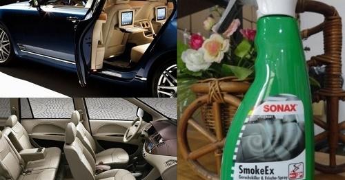 Khử mùi ô tô sonax