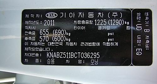 ý nghĩa số khung xe ô tô