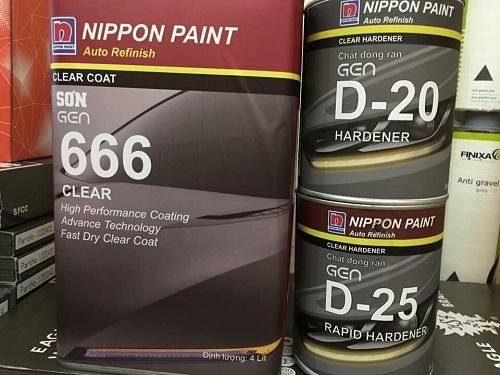 sơn ô tô loại nào tốt