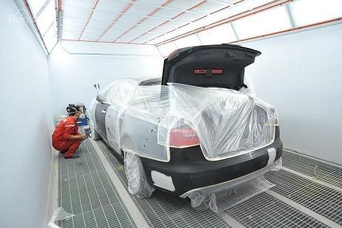 Quy trình sơn xe ô tô