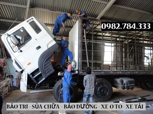 Gara sửa chữa xe tải