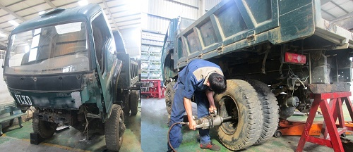 Sửa chữa xe tải