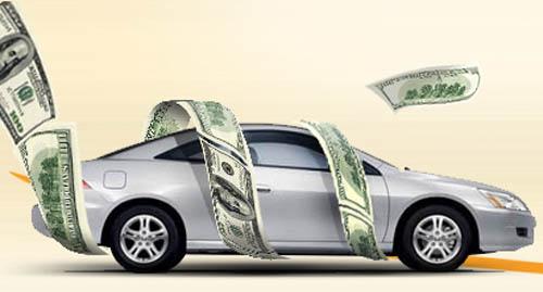 tiền và xe