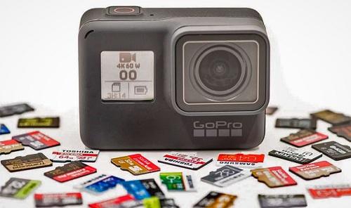camera thẻ nhớ