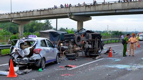 Tai nạ giao thông gây ra chết người