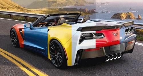 Decal đổi màu xe hơi