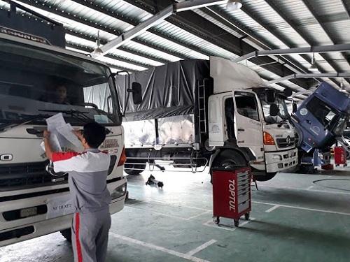 dịch vụ sửa chữa xe đầu kéo