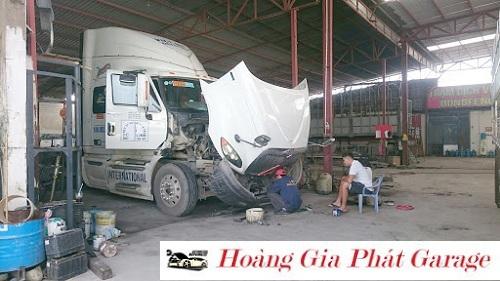 sửa chữa xe đầu kéo