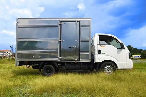 Thùng xe tải kín