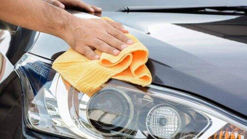 Làm sạch và lau rửa từng bộ phận