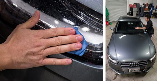 tẩy bụi sơn xe ô tô