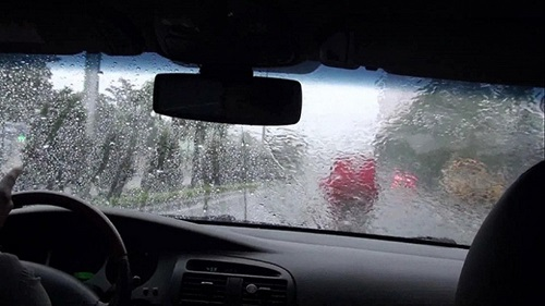 xe bị đọng nước